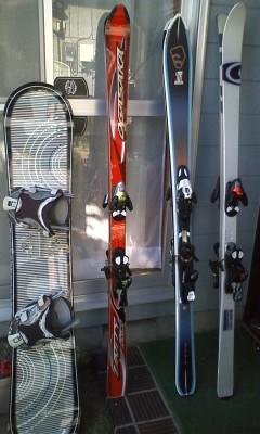 スキースノボラインナップ